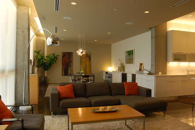Gibson Sally Loft modern-living-room