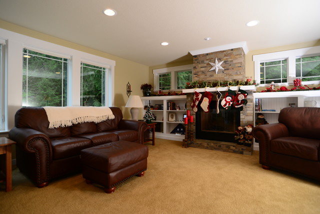 Gig Harbor Addition & Remodel traditional-living-room