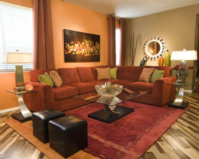 Gilbert AZ Living Room contemporary-living-room