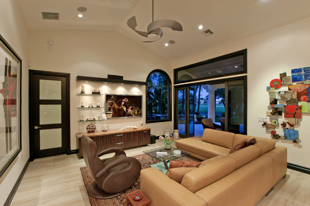 Gill Residence contemporary-living-room