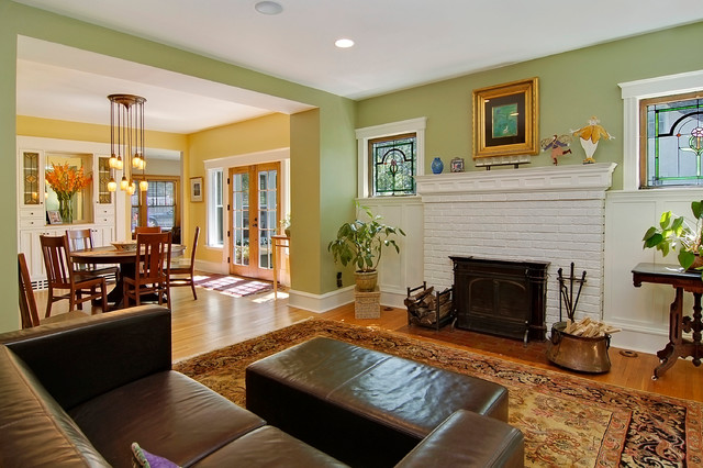 Girard Ave traditional-living-room