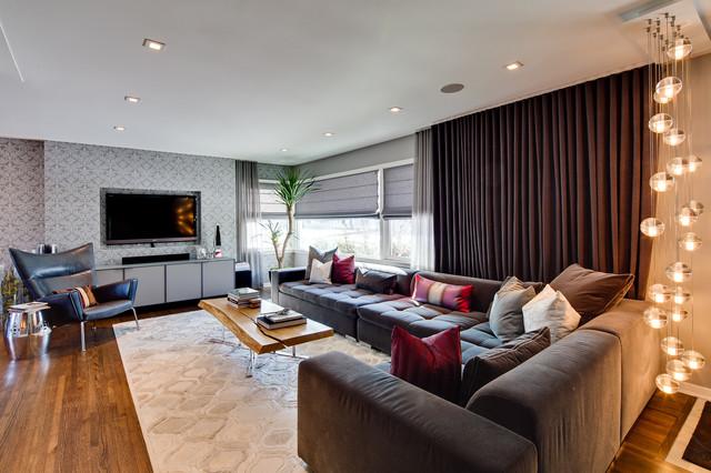 Glamour Home modern-living-room