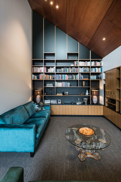 Glandovey Home Contemporary Living Room Christchurch By Allfrey South Architects Limited