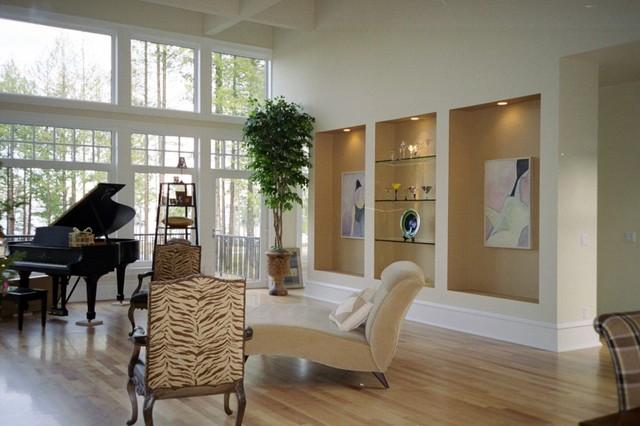 Living Room   Modern Living Room Idea In Seattle