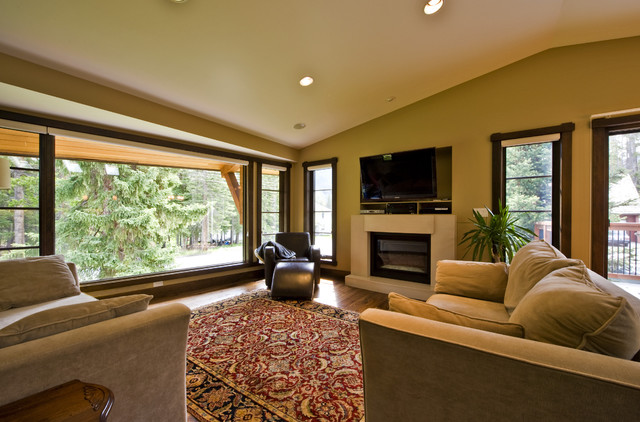GLEN CRESCENT RENOVATION contemporary-living-room