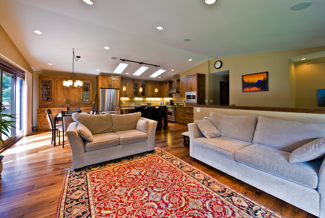 Glen Crescent Renovation Traditional Living Room Calgary By Sticks And Stones Design
