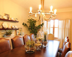 Before and After in Lake County IL traditional dining room