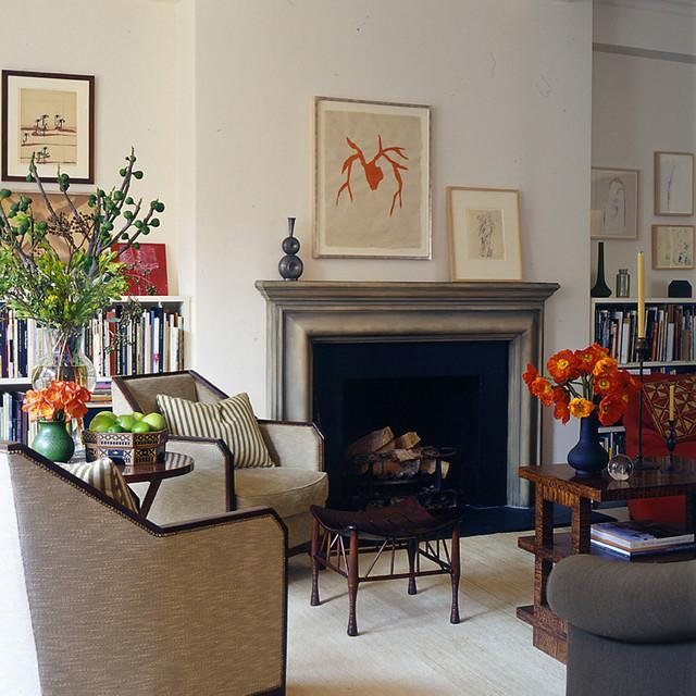 Glenn Gissler Design contemporary-living-room