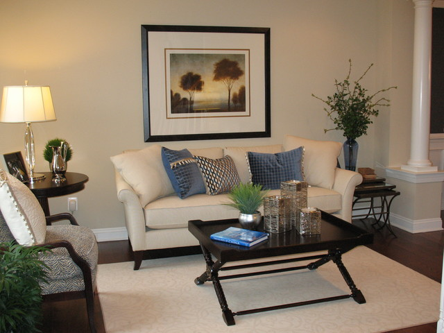 Glenwood Model Home contemporary-living-room