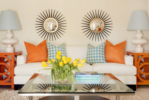 I Love This Eclectic Living Room Design On Houzz And Ve Gathered Together Some Items From Member S The Web To Create A Turquoise Orange