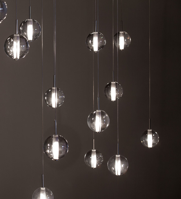 Globe Suspensions - Modern Lighting By Premiere contemporary-living-room & Globe Suspensions - Modern Lighting By Premiere - Contemporary ...