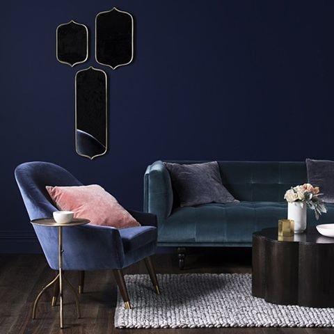 Wände und Sofa in derselben Farbe - funktioniert das?