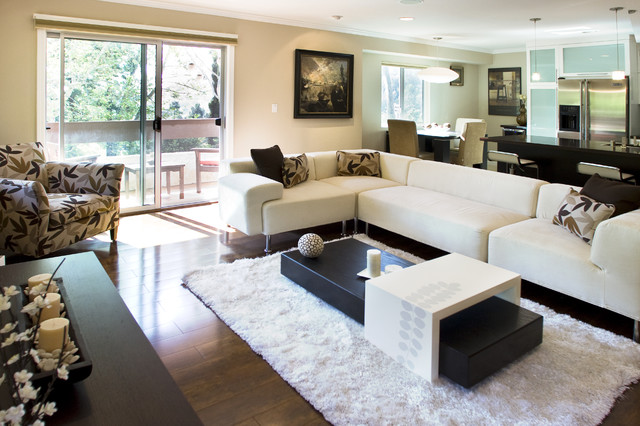 Globus Builder contemporary-living-room