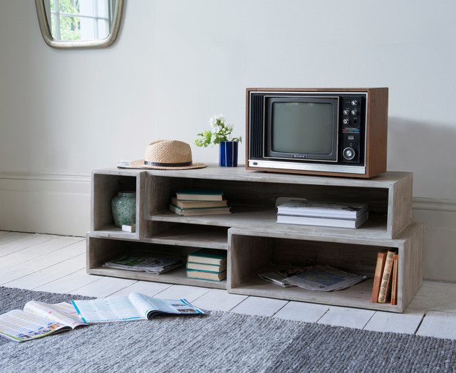 Goggle Mate TV stand - Industrial - Living Room - London ...