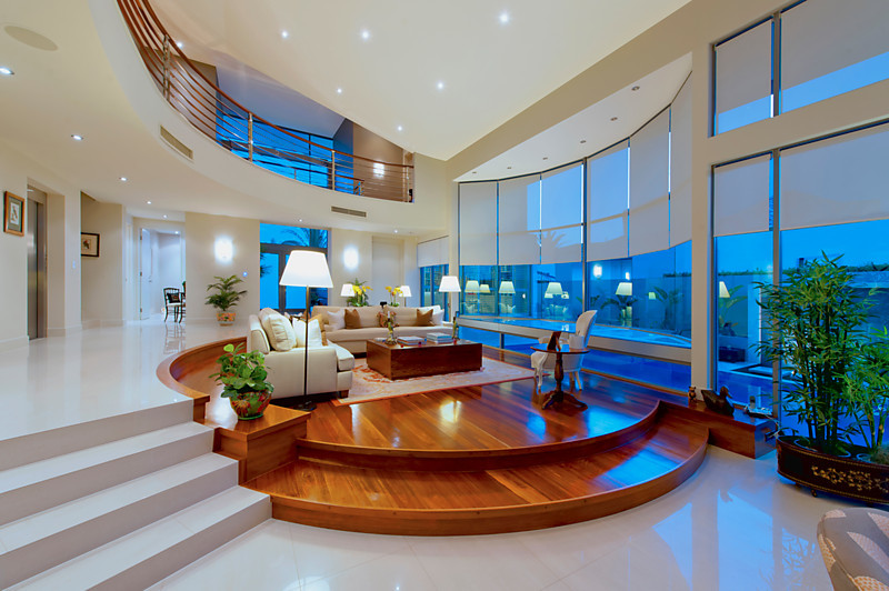 Gold coast New build - Modern - Living Room - Brisbane ... on D&M Outdoor Living Spaces id=66164