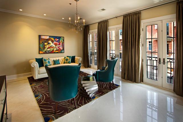 Gold Coast, NJ contemporary-living-room