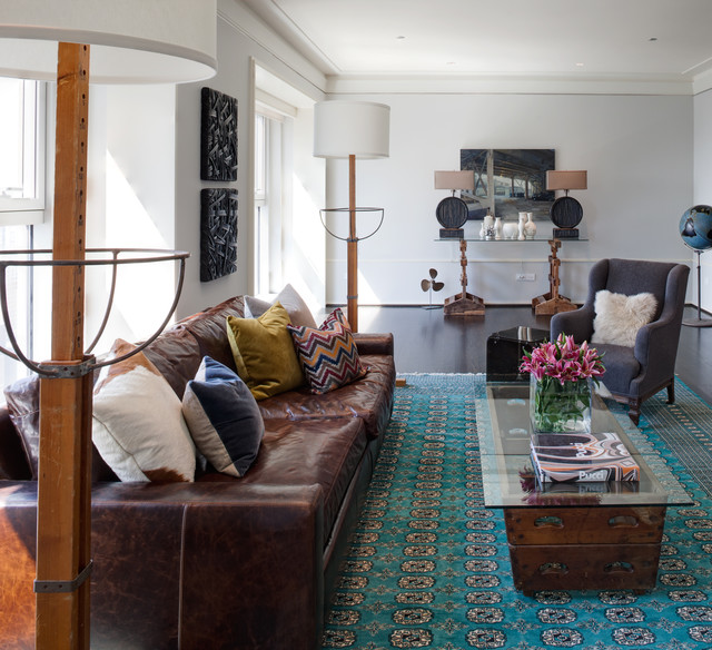Colours That Go With A Brown Leather Sofa