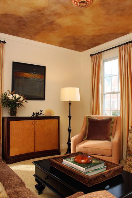 Golden Living Room : Golden Living Room