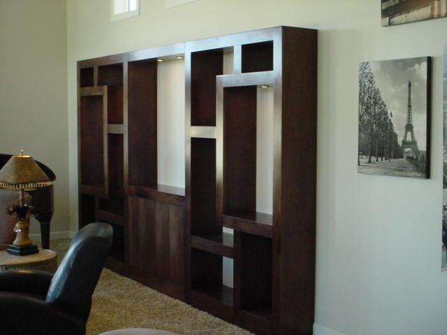 Golden Ratio Cabinet Modern Living Room San Luis Obispo By
