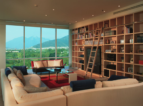 Jerry Jacobs Design contemporary living room