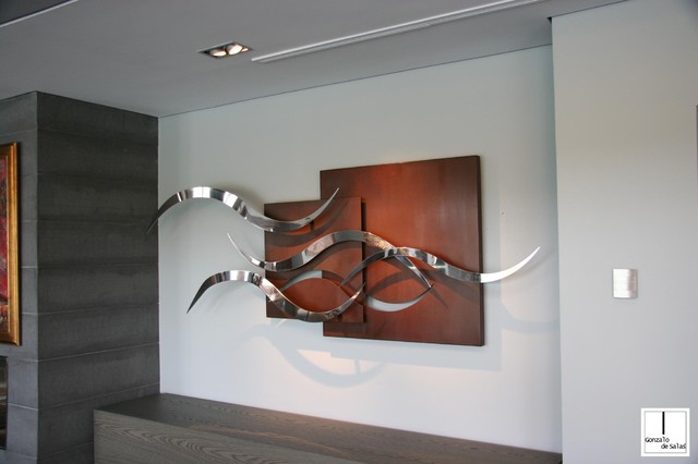 Gonzalo de salas sculptures and wall sculptures modern living room other metro by for Wall sculptures for living room