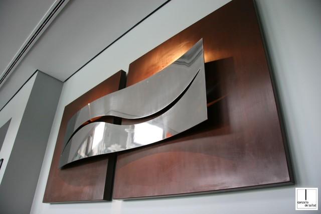 Gonzalo de salas sculptures and wall sculptures - Sculpture exterieure metal ...