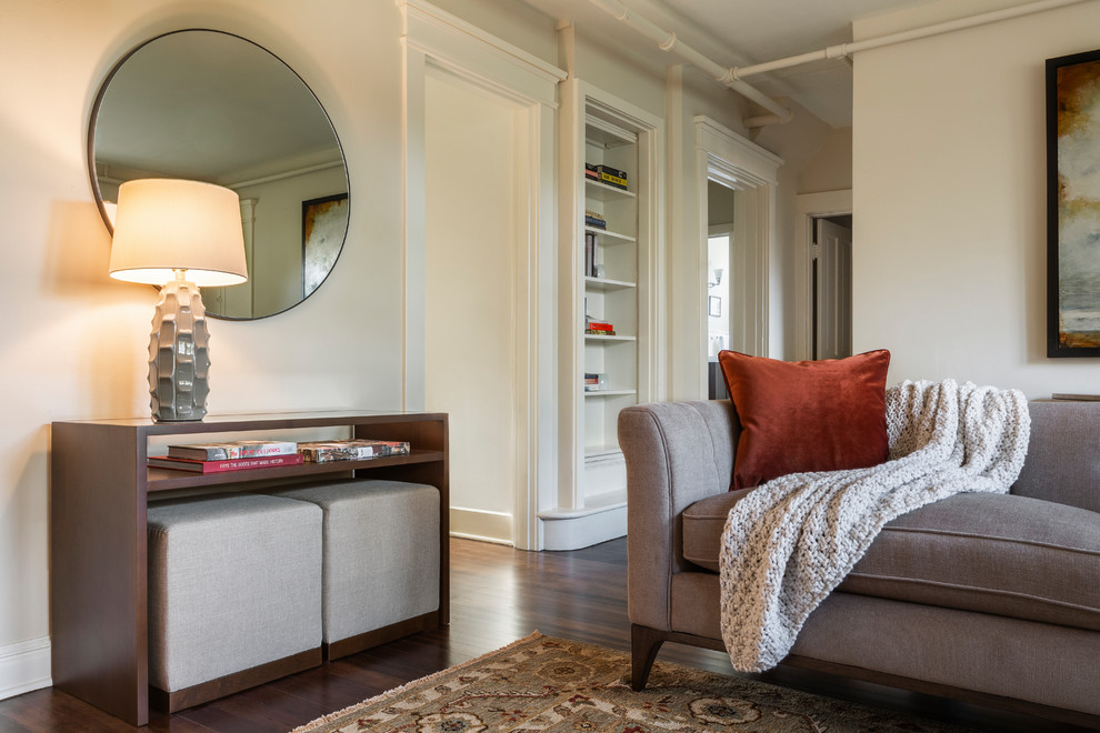 Goose Hollow Guest House Traditional Living Room Portland By Amy Troute Inspired Interior Design