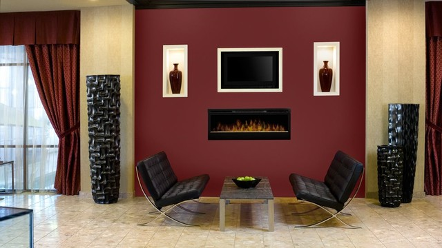 Gorgeous Living Rooms Contemporary Living Room Other Metro By Electric Fireplaces Direct
