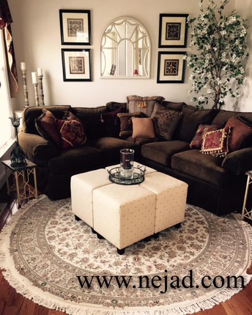 gorgeous round handmade persian oriental rugs
