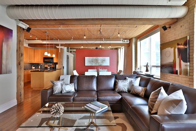 loft furniture toronto. Gotham Lofts, Toronto Industrial-living-room Loft Furniture