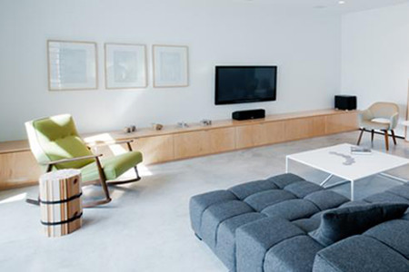Gottschalk Residence at Arbor Square contemporary-living-room