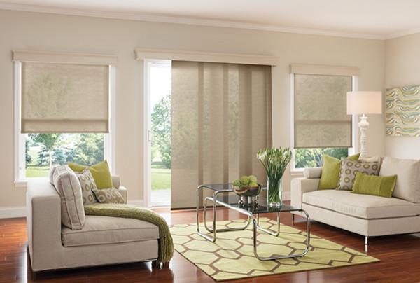 Graber WINDOW PANELS - SLIDING PANEL BLINDS - Modern ...