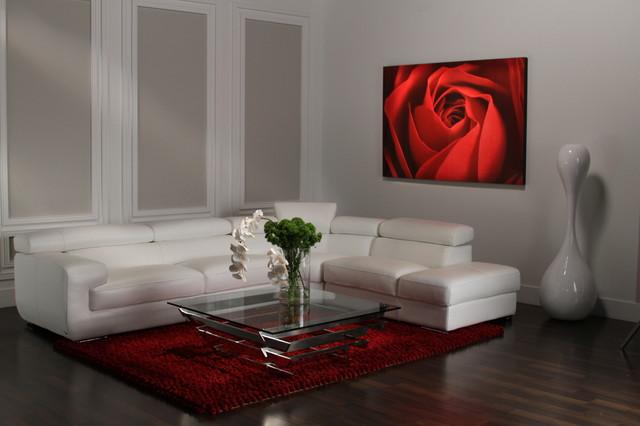 Grace Modular Leather Sofa Modern, Dorado Furniture Miami