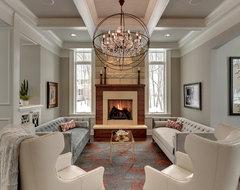 Graham Hill Residence traditional-living-room