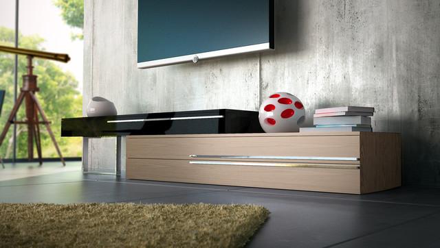 Gramercy Contemporary Modern TV Stands By ModLoft Modern Living Roo