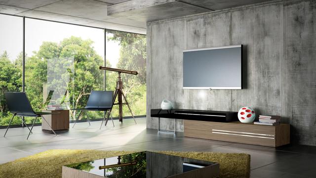 Gramercy Contemporary Modern Tv Stands By Modloft Modern Living Room Orange County By