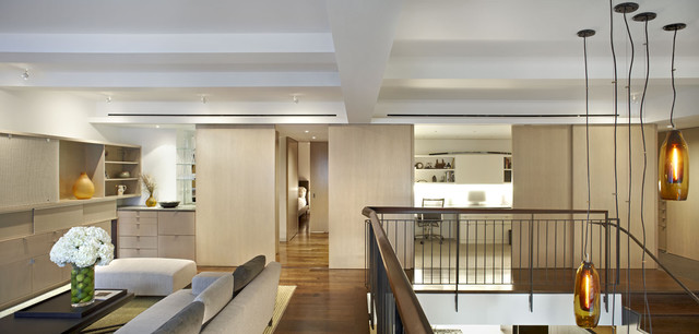 Gramercy Park Duplex contemporary living room