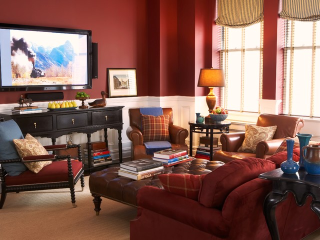 Town and Country traditional-living-room