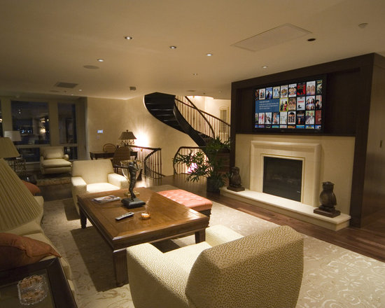 finished basement staircase home design ideas pictures remodel and