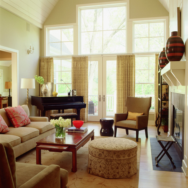 Grand Cottage Traditional Living Room Minneapolis By Lucy Interior Design