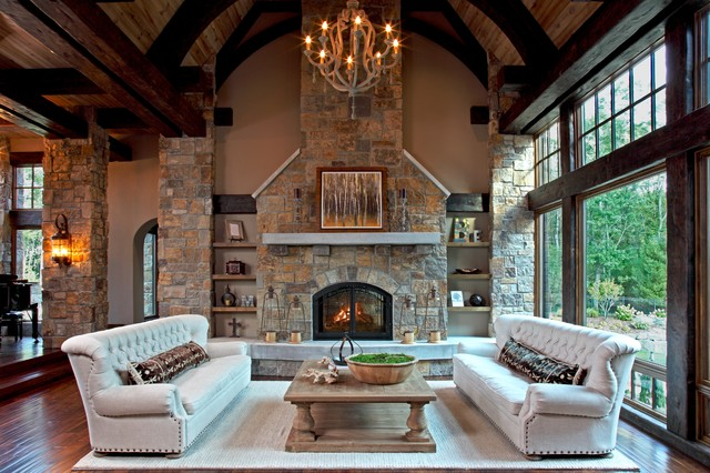 marvellous grand living room fireplace | Grand Fireplaces