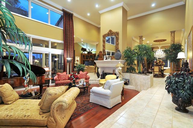 Grand Living Room traditional-living-room