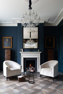 Grand London Residence - Victorian - Living Room - London ...