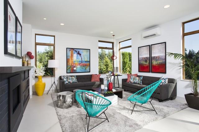 Grand Model contemporary-living-room