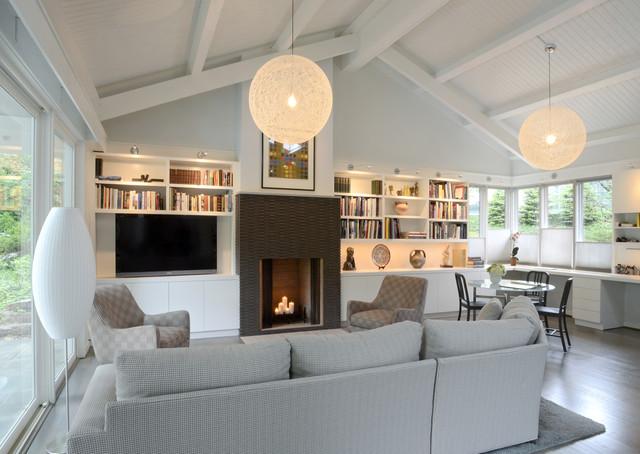 Grandin Residence contemporary-living-room