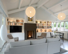 Grandin Residence contemporary-living-room