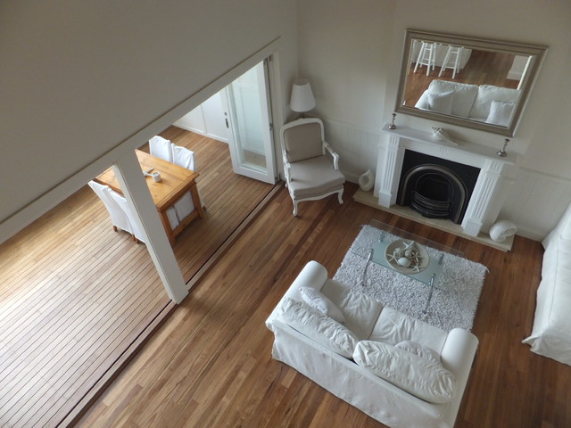 Granny Flats Northern Beaches beach-style-living-room