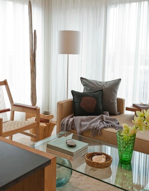 Granville Loft Contemporary Living Room Vancouver