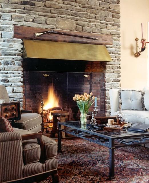 Gray Residence traditional-living-room