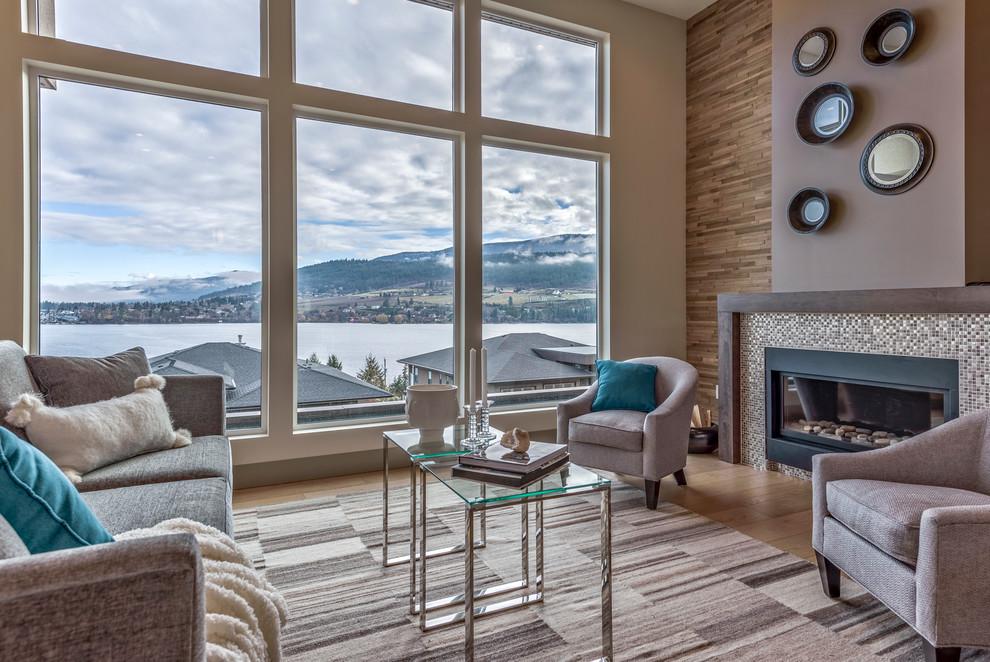 Graystone Drive, Vernon BC - Modern - Living Room ...